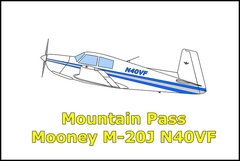 On 10/23/00 at 2:40pm, the Mooney M-20J N40VF collided with mountainous terrain while maneuvering in the area of Wheaton Springs, California. The airplane was destroyed and the pilot and his passenger were killed.  The flight originated from the Mesquite Airport, Mesquite, Nevada and was destined for Fallbrook, California. The flight was approximately 35 miles southwest of Las Vegas when the pilot advised Las Vegas departure control that he was in the clouds and was picking up ice. In his last radio transmission, the pilot stated that he was turning around en route to Jean, Nevada. Radar contact was lost at 2:38pm. When the aircraft did not arrive at Jean, or his final destination in Fallbrook, a search commenced. On 10/24/00, at 4:15pm, the aircraft was found on 70-degree slope in the Ivanpah Mountains near the California/Nevada border.