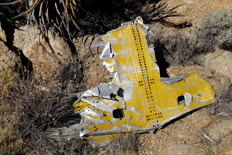 The other side of the same piece. Looks like it might be the center section of the horizontal stabilizer.