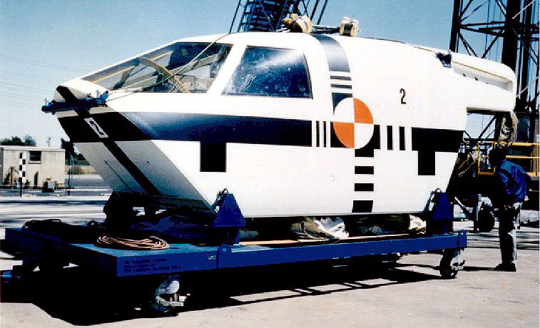 The first three B-1A prototypes were fitted with escape capsules. It was the partial failure of this system that caused the loss of the pilot.