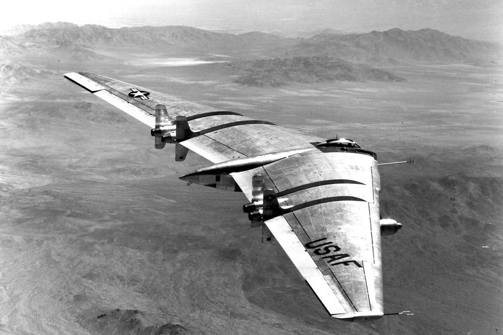 Northrop tried to save the program by coming up with the YRB-49 reconnaissance bomber.