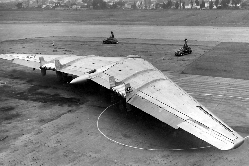 Another view of #42-102367 on Dec. 23, 1948. (U.S. Air Force photo)
