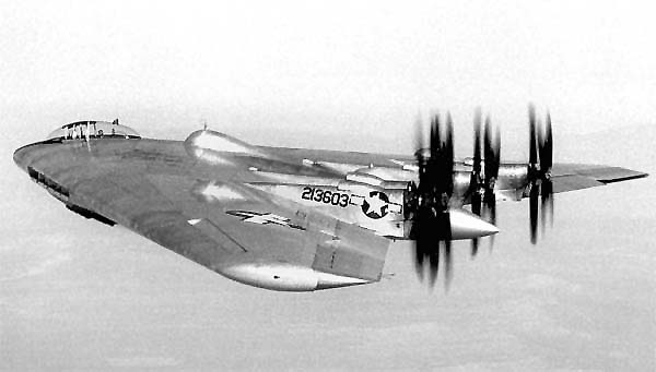 The YB-49s evolved from the XB-35s. On 6/25/46 three years late and 400 percent over budget, the first XB-35 made it's test flight. Only two XB-35s were completed, the jet bombers already on the drawing board made the propeller driven XB-35 obsolete before its first flight. Both XB-35s were scrapped in August 1949.