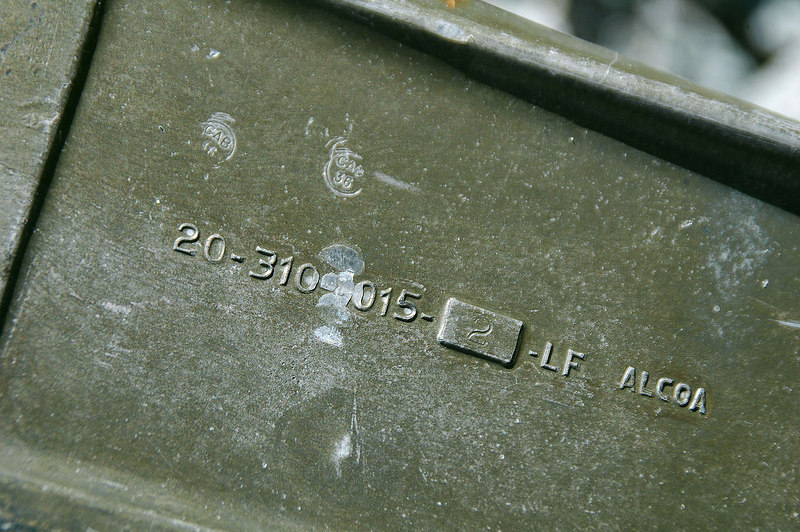 Number on a part of the gear. All the part numbers started with 20.