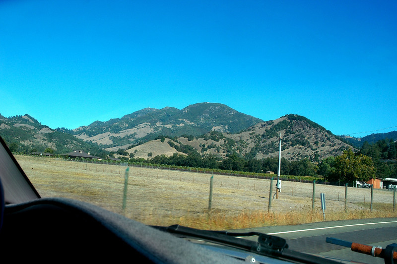 View of Mount Saint Helena. Awhile back, Craig Fuller asked if I would be interested in visiting the site of the Skyraiders, of course I said yes. Craig is performing a survey of the site for the California State Parks and this visit is one of many that he has made to photograph and record the locations of all the wreckage. The report will also be his thesis.