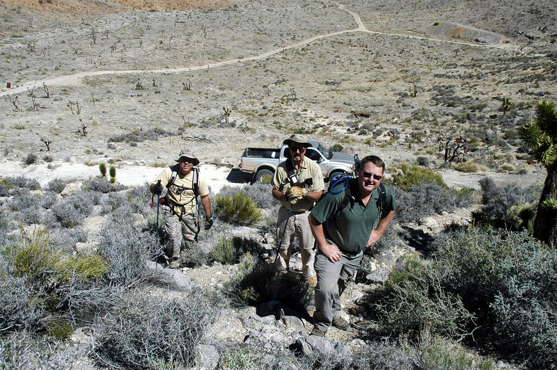 Dave, Rob and Craig as we start the search for the AT-6A.