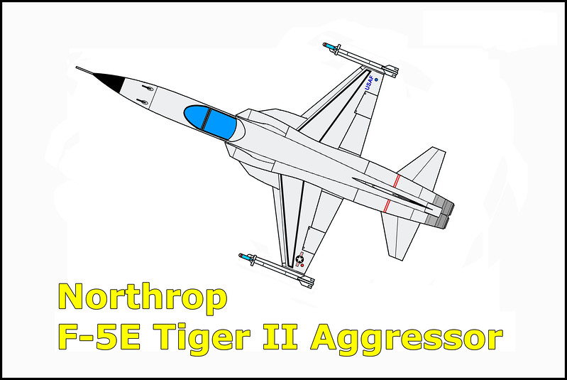 A student pilot in the Aggressor Aerial Attack Instructor Course was on his first transition sortie in a Northrop F-5E Tiger II aggressor aircraft. The instructor pilot flew chase position in another F-5E. The flight accomplished a normal departure to the training area which was located north of Nellis Air Force Base. Traffic pattern stalls and several aerobatic maneuvers were to be accomplished during the mission. During maneuvering in the working area, the student pilot's aircraft went out of control. He safely ejected and was recovered by a USAF helicopter.
