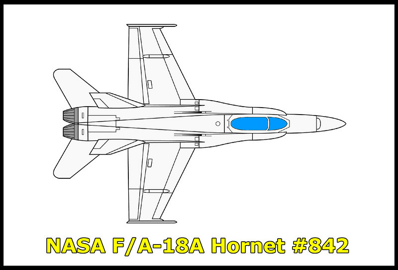 Not a crash site, but a retired NASA chase plane. I been eyeballing this Hornet for a few years just off the 14 in Lancaster. Finally stopped to get some photos of it. The plane is a McDonnell Douglas F/A-18A, #161214, NASA #842, N842NA.