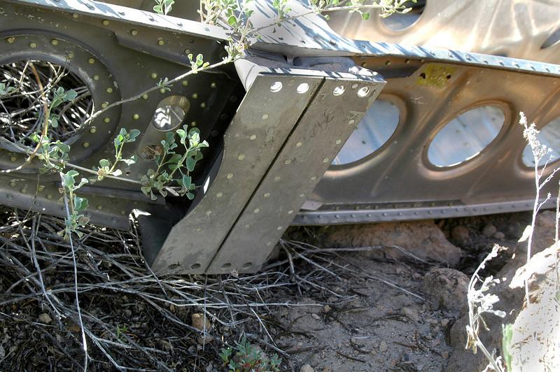 Close up of the main spar.