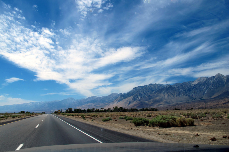 Heading home on Hwy 395 just south of Big Pine. I never tire of this drive along the eastern Sierra. <br /> <br /> THE END