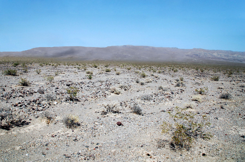 Lot of desert out there. This is the spot that I figure was marked on the map I have. The scale on the map is one inch equals four miles.