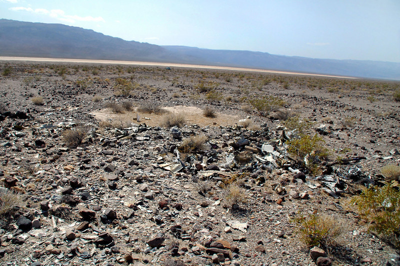 One last look at the impact crater. Would have like to looked around a little more, but the heat has getting to me.<br /> <br /> THE END