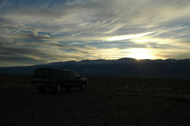 Made it back to the truck just after sunset. <br /> <br /> THE END