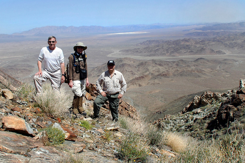 Joe(me), Brent and Craig at the site.