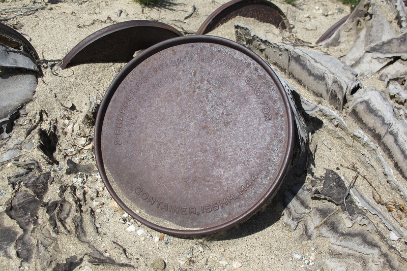 Close up of one of the lids.
