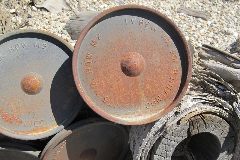 These were 105 MM.