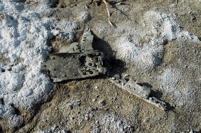 Think this is a piece from a fuselage bulkhead.
