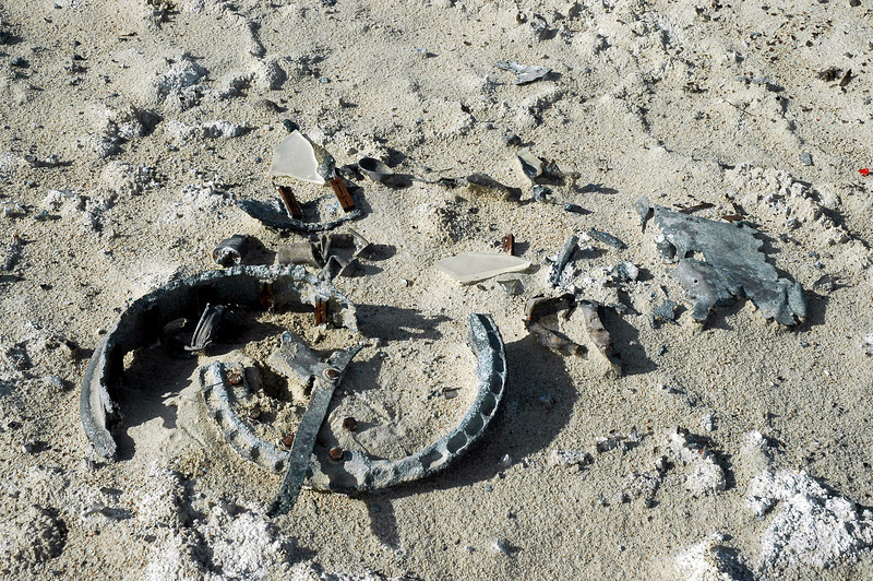 The ring is about  two feet in diameter.