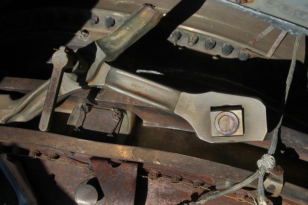 Broken engine mount.