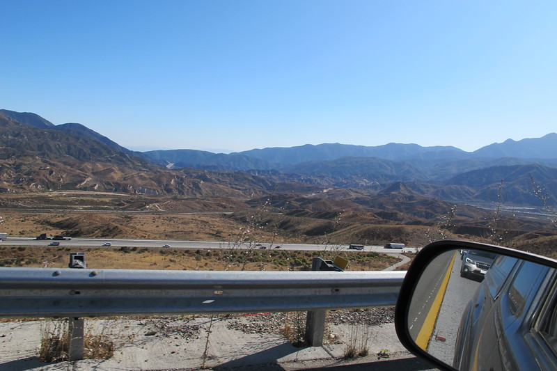 On the drive home in stop and go traffic on I-15 in the Cajon Pass. <br /> <br /> This turned out to be an interesting micro site and one that I wanted to do for a long time.. <br /> <br /> THE END