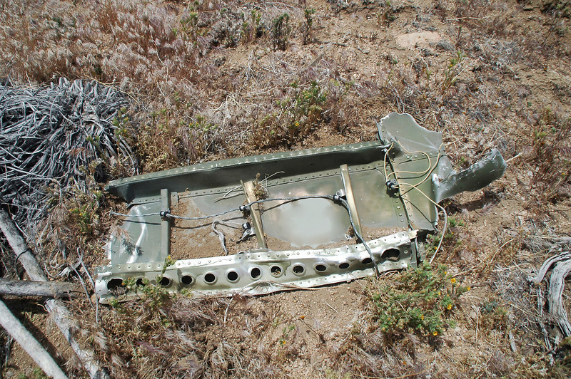 Looks like a piece from the fuselage.