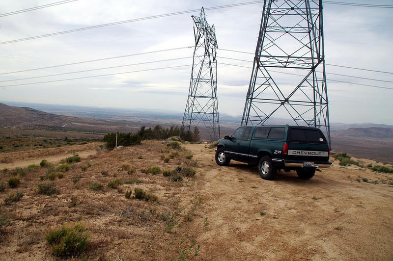 We had a good idea where the crash site was located, but the short and easy route to the site was blocked by private property. By driving around, we were able to locate an area where we could hike in avoiding the private property.