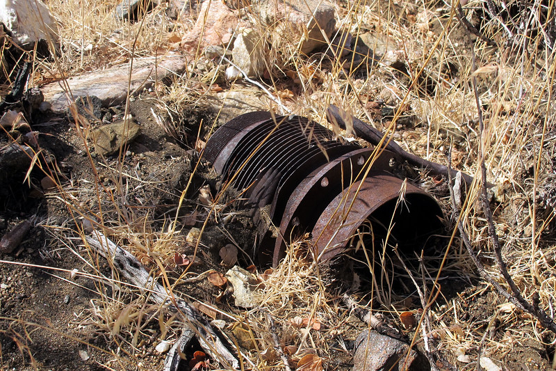 One of the engine cylinders, found about ten of these scattered around the site.