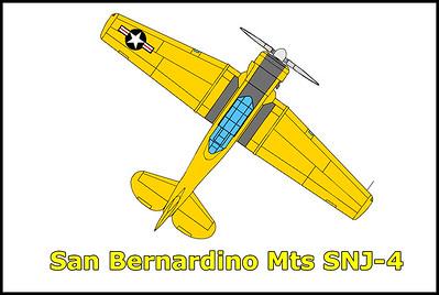 San Bernardino Mountains SNJ-4 10/14/17