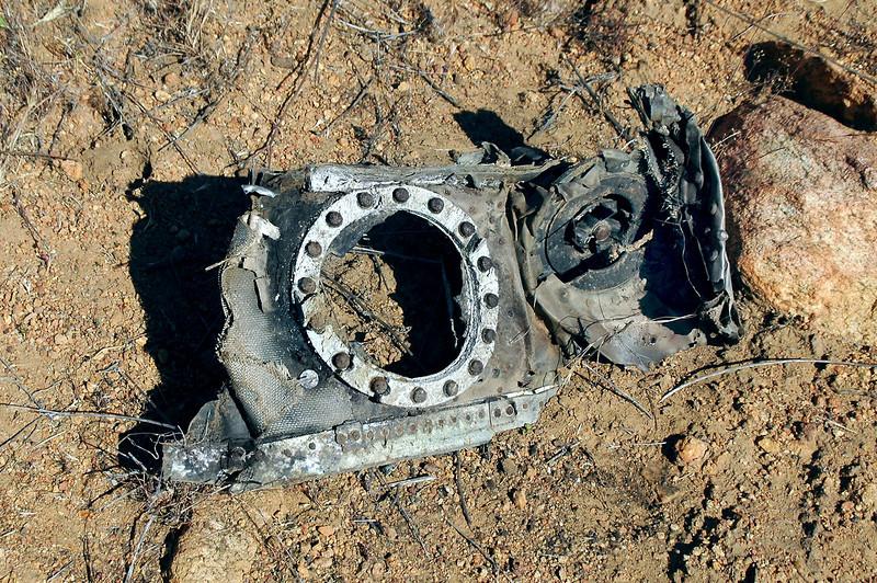 More wreckage.