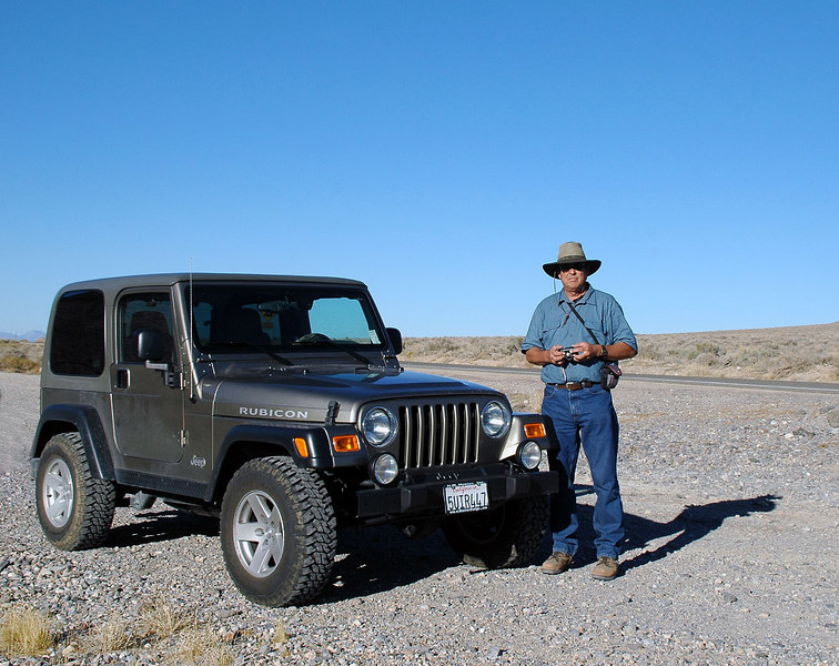 "Tom and his Jeep. Looking forward to returning with him for another attempt at reaching the F-105. <br />  <br /> The next week we returned and did reach the crash site. Photos at  <a href=""http://joeidoni.smugmug.com/gallery/2072497"">http://joeidoni.smugmug.com/gallery/2072497</a><br /> <br /> THE END"
