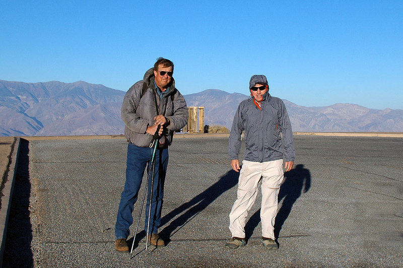 Tom and Joe(me), our search for the F-105F Thunderchief will start from here.