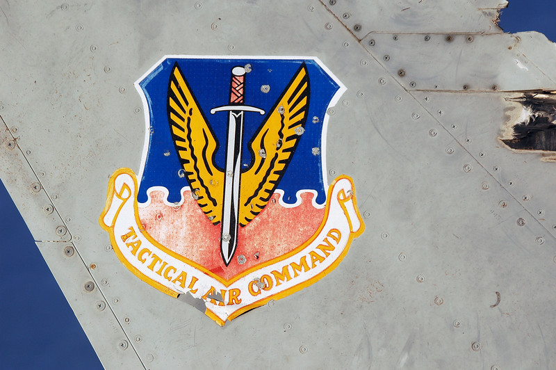 Tactical Air Command insignia.