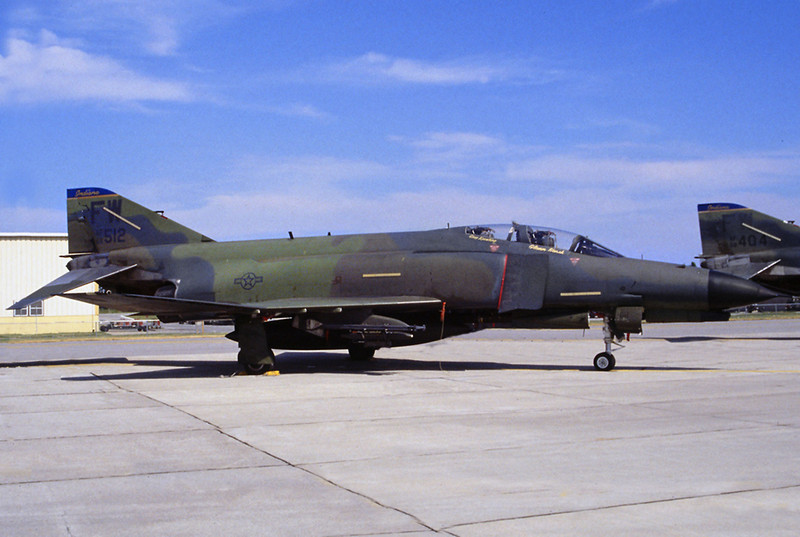 Photo of the F-4E #68-0512 USAF