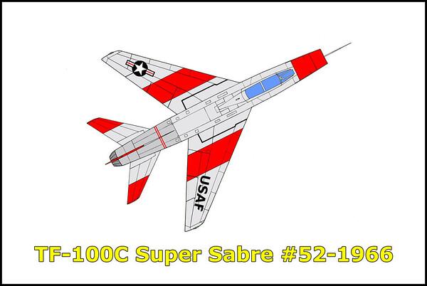 TF-100C Super Sabre #54-1966 9-26-15