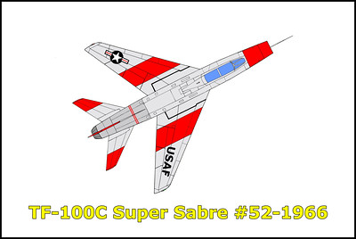 TF-100C Super Sabre #54-1966 9-26-15