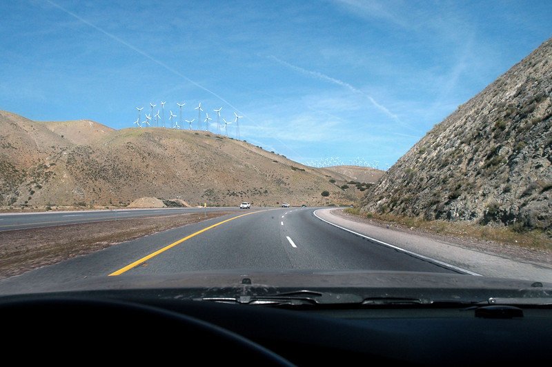 Driving towards Tehachapi. Today's plan was to search for the wreckage of two sailplanes that mid-aired over a mountain peak on 5/3/70. They were the Schleicher K7 N7341 and Schweitzer SGS126 N7793S that were on flights out of Holiday Haven Airport. About five years ago someone told me that they found a wing from one of the sailplanes stuck in a tree near the summit of the mountain.   <br /> <br /> Finding the A-20C Hovoc site was unexpected.
