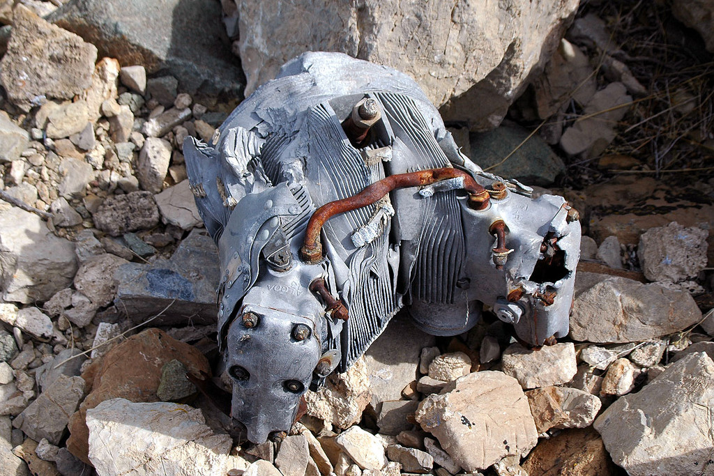 Another view of the head. Was hoping to find the engines at this site.