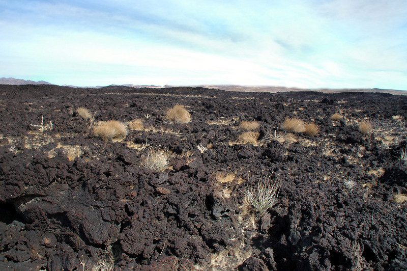 On the lava heading back to the truck. This is most I've hiked on lava. Doing the hike three times added up to nine miles. That was enough to destroy the light weight boots that I was wearing.