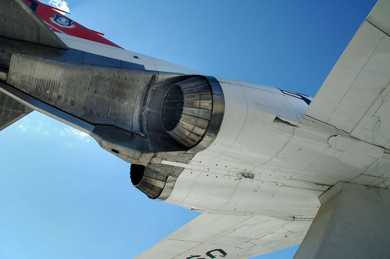 The F-4 looks like it's all engines with wings and a tail attached.