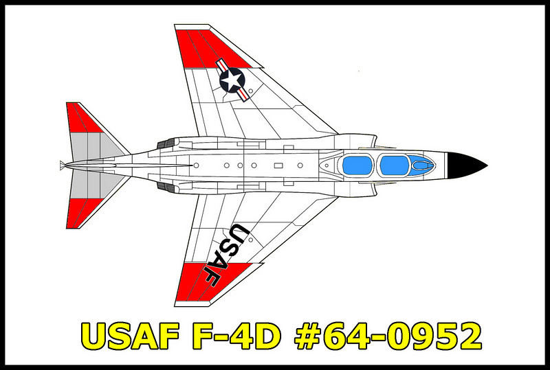 USAF F-4D #64-0952 Not a crash site, but a retiered F-4 that was used at Edward's Air Force Base for flight testing.