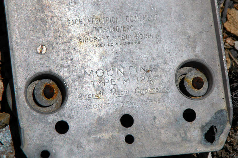 Marking on a cover plate.