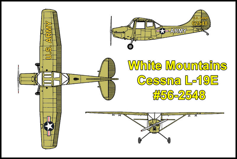 In August of 1958, a Cessna L-19E Birddog #56-2548 crashed in bad weather on the west side of the White Mountains, killing the pilot. The downed aircraft was discovered by a deer hunter in September of 1959 near Campito Mountain. The L-19E was a military version of the Cessna Model 305C and was used for artillery observation, utility and liaison work.