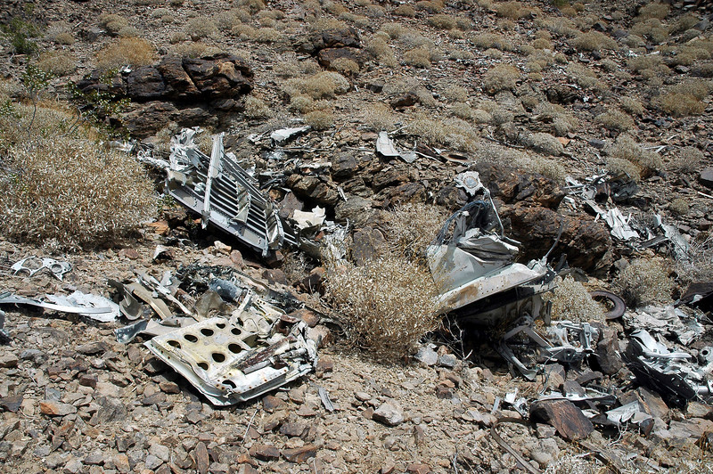 There was a lot of wreckage remaining. Hoping that I can find something with the A-4s serial number on it.