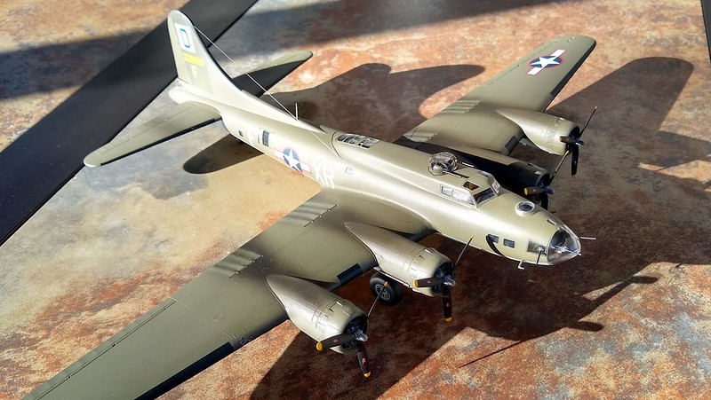 """190225: Complete.  B-17F-105-BO serial 42-30487 XR-F """"Torchy 3"""" assigned to 100th BG, 349 BS"""