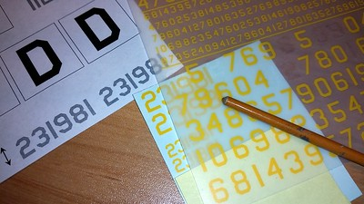 141225 B17F Decals are printed and dry-transfers on decal film.