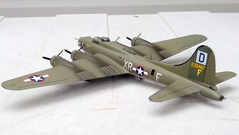 """190227: Complete.  B-17F-105-BO serial 42-30487 XR-F """"Torchy 3"""" assigned to 100th BG, 349 BS"""