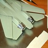 060402: F-14A in 1/100.  Masking for paint.
