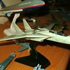060325: F-14A in 1/100. Gear doors welded shot for in-flight display.