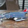 180722: F-4K Complete.  Note VF-171 zaps on side and tail.