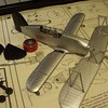 111207 SOC-3 Rigging wires and struts superglued to top wing.