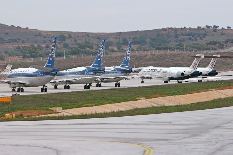 SX-BCC | SX-BCF | SX-BCI | SX-BOB | SX-BOA | Boeing 737-284 | Boeing 717-2K9 | Olympic Airways | Olympic Aviation